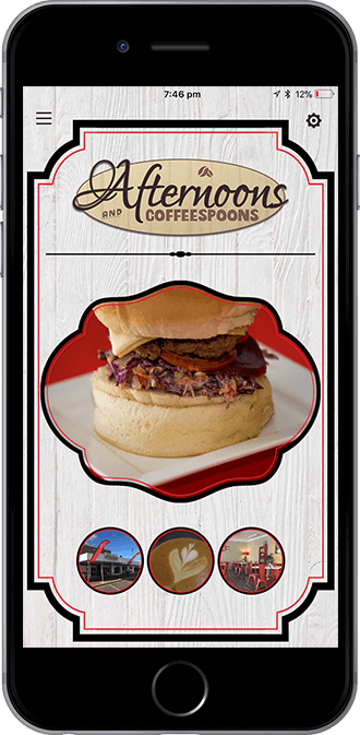 Afternoons and Coffeespoons Mobile App powered by App City