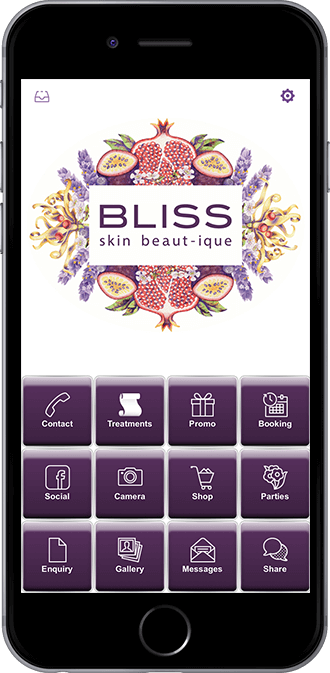 BLISS Skin Beaut-ique Mobile App powered by App City