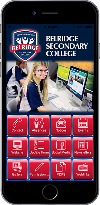 Belridge Secondary College Mobile App