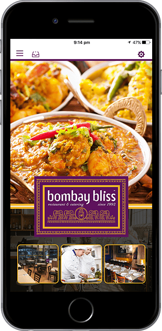Bombay Bliss Mobile App powered by App City