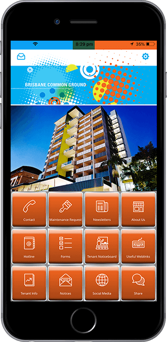 Common Ground Queensland Mobile App powered by App City