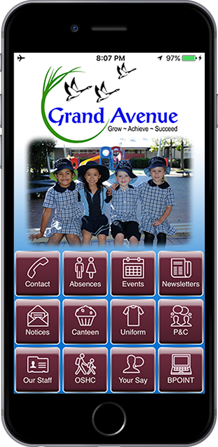 iphone Grand Avenue App