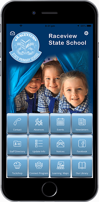 Raceview State School Mobile App powered by App City