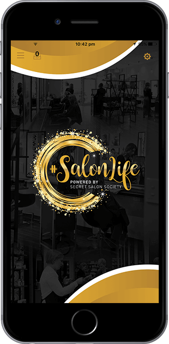 Salon Life Mobile App powered by App City
