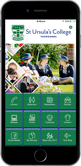 ST Ursulas College Mobile App powered by App City