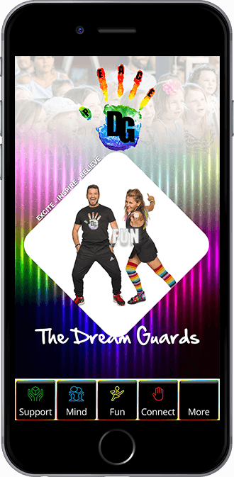 The Dream Guards Mobile App powered by App City