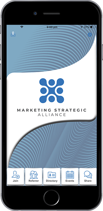 Marketing Strategic Alliance Mobile App powered by App City