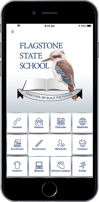 Flagstone State School mobile app power by App City