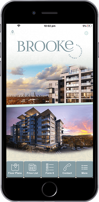 Brooke Residences Mobile App Powered by App City
